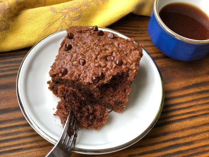 Brownie courgette chocolat