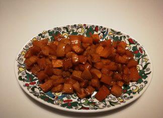 Patates douces au sirop d'érable