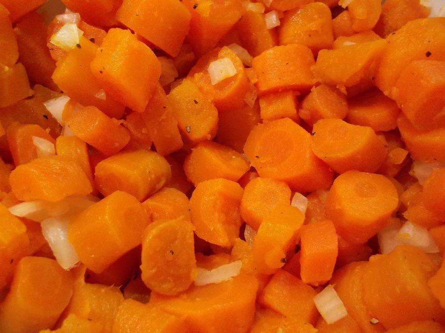 Salade de carottes cuites