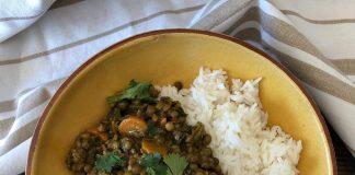 Curry facile aux lentilles