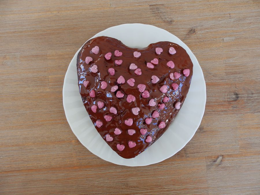 Gateau Chocolat Framboises Courgette Et Chocolat
