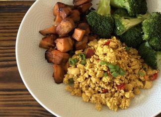 Tofu brouillé