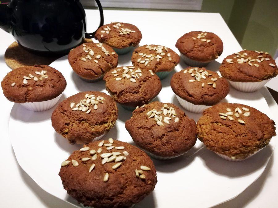 Muffins sans gluten aux graines de tournesol