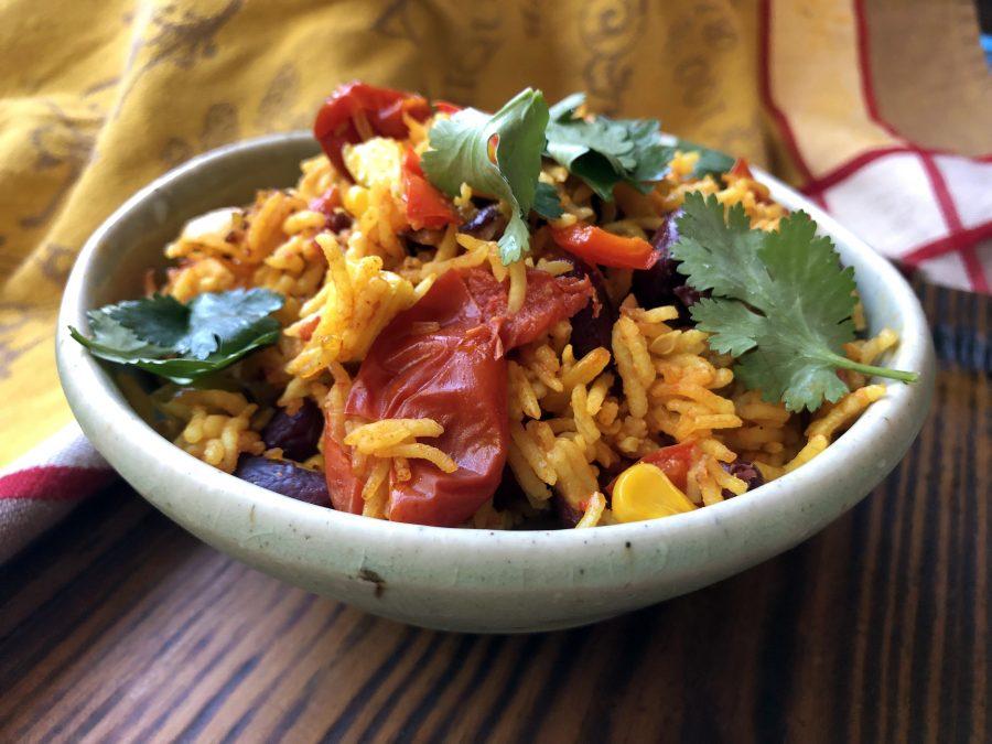 Poêlée de riz à la mexicaine