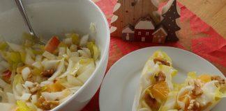 Salade d´endives aux clémentines