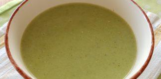 Soupe de brocoli à l'avoine