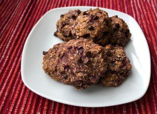 Cookie choco-coco framboises