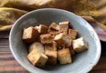 Tofu vite fait au gingembre et à l'ail
