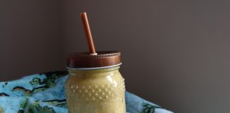 Smoothie mangue-banane