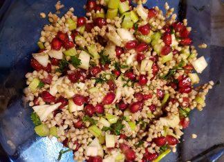 Salade de sarrasin à la grenade